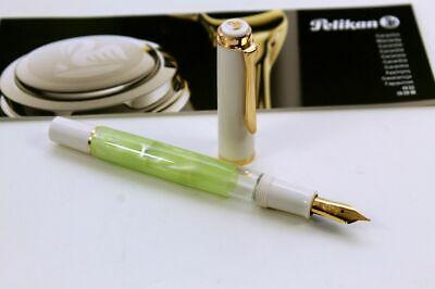 Pelikan Classic M200 Pastell Green Füller Füllfederhalter Neu