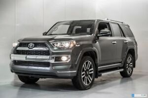 2018 Toyota 4Runner LIMITED 5 OCCUPANTS,2600$ D'EQUIPEMENTS WINT