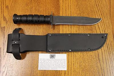 Ontario Marine - NEW Ontario Knife 498 USMC Combat Fighting Knife 8180 Razor MARINE ISSUE!