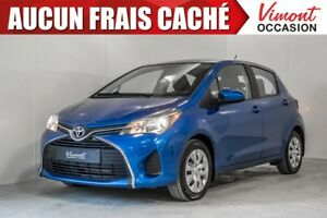 2015 Toyota Yaris HB LE A/C GR ÉLECT COMPLET NO ACCIDENT RECORD
