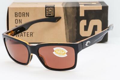 COSTA DEL MAR PLAYA SUNGLASSES Black/Amber frame / Copper 580P Polarized (Costa Playa Sunglasses)