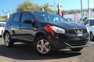 2012 Nissan Dualis J10 Series II ST Black Manual SUV