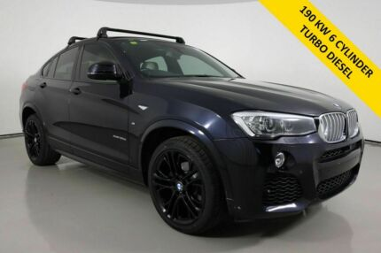 2014 BMW X4 F26 xDrive 30D Carbon Black 8 Speed Automatic Coupe Bentley Canning Area Preview
