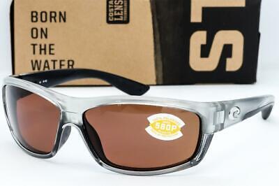 New Costa Del Mar Saltbreak Sunglasses Silver frame / Copper 580P Polarized (Costa Frames)