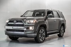 2018 Toyota 4Runner GROUPE LIMITED 5 OCCUPANTS WINTER TIRES INCL