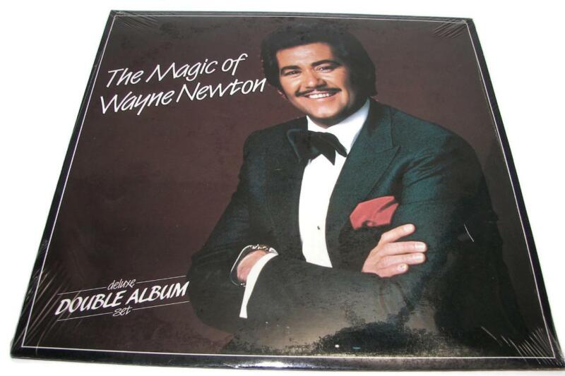 NIB Vtg 1985 The Magic of Wayne Newton, Deluxe Double Album Set, Danke Schoen