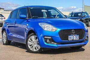 2018 Suzuki Swift AZ GL Navigator Safety Pack Blue 1 Speed Constant Variable Hatchback