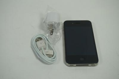 Very Good Used Black Apple iPhone 4S 8GB AT&T Cricket A1387 Cell Phone