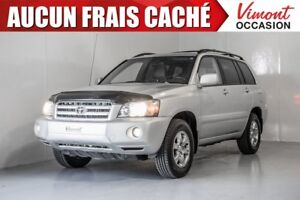 2007 Toyota Highlander 2007+4WD+CUIR+MAGS+V6+SIEGES CHAUFFANTS S