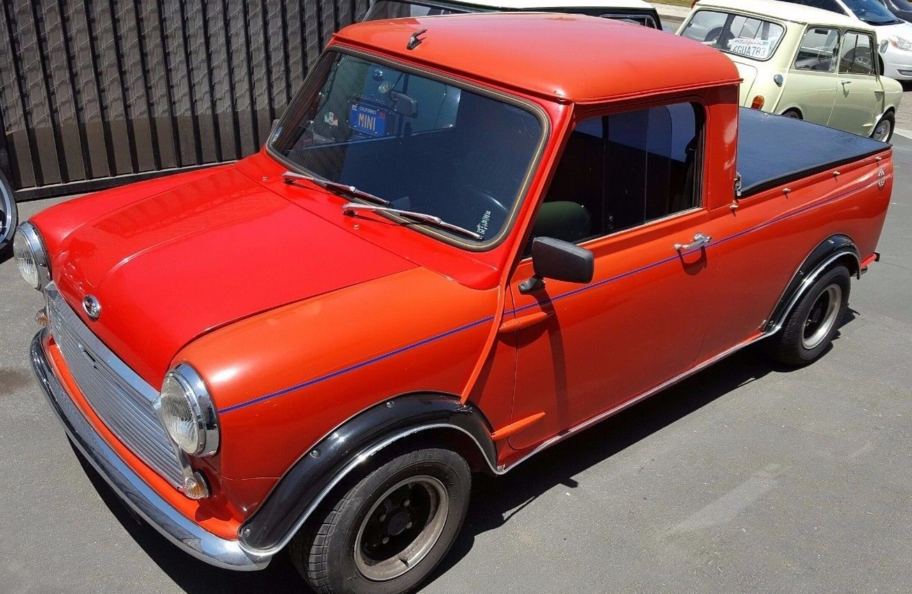 classic mini cooper truck cover block it evolution covercraft for sale. Black Bedroom Furniture Sets. Home Design Ideas