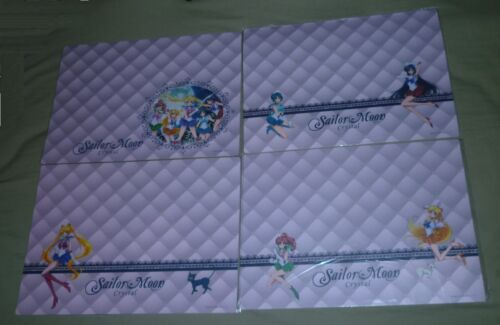 RARE SAILOR MOON CRYSTAL PLACE MAT NOT FOR SALE POSTER SET OF 4 PLACEMAT
