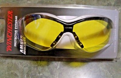 Winchester FASHION UV AMBER Or Hers Champion GUN RANGE SHOOTING SAFETY GLASSES (Winchester Glasses)