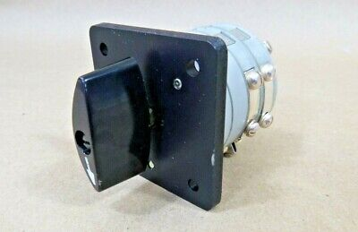 Mep804a Quiet Tactical 15kw Generator Rotary Switch 5930-01-531-2976 13728