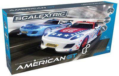 Scalextric American GT 1/32 Slot Car Race Set - 4 Multiple tracks - C1361T for sale  Las Vegas