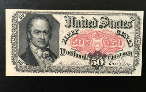 U.S. Fractional Currency 50 Cents. 1874 FR1381. UNC