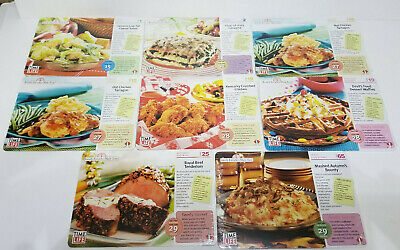 Time Life Family Favorites Made Easy Recipe Cards 96 total 8 Packs of 12 cards (Time Life Family Favorites Made Easy Recipe Cards)