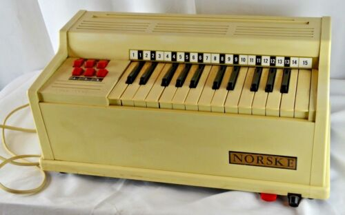 Vintage Small Air Organ Norske Organ Corp.Model No. 66 Made in U.S.A. working