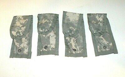 (4) NEW MOLLE II ACU 9mm US ARMY USGI Digital Camo Ammunition Ammo Pocket Pouch