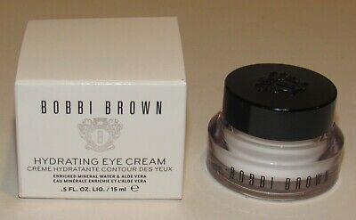 Bobbi Brown Hydrating Eye Cream Moisturizer 0.5 Oz Full Size 15 mL NIB