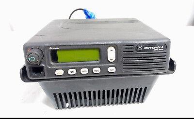 Motorola Mcs2000 Two-way Mobile Radio M01hx812w Sn 722ayq1068