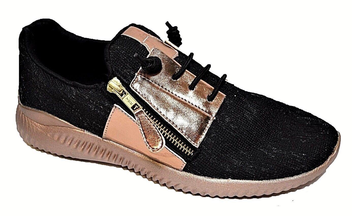 TS shoes TAKING SHAPE sz 10 / 41 Weekend Sneakers wide fit metallic glam NIB!