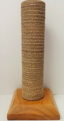 Wood With Sea Grass Bracelet Display