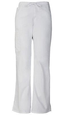 Dickies Scrubs Mid-Rise Women's Cargo Pants 86206 White WHWZ