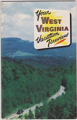 1950's West Virginia Tourism Booklet