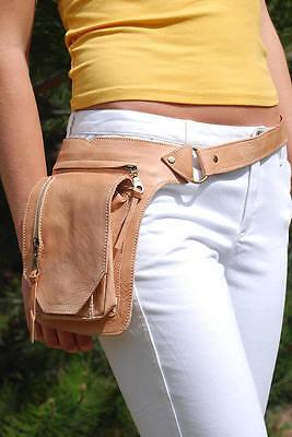 Waist Pack Festival Leather Fanny Pack Belt Bag Utility Belt Hip Bag Bum Bag