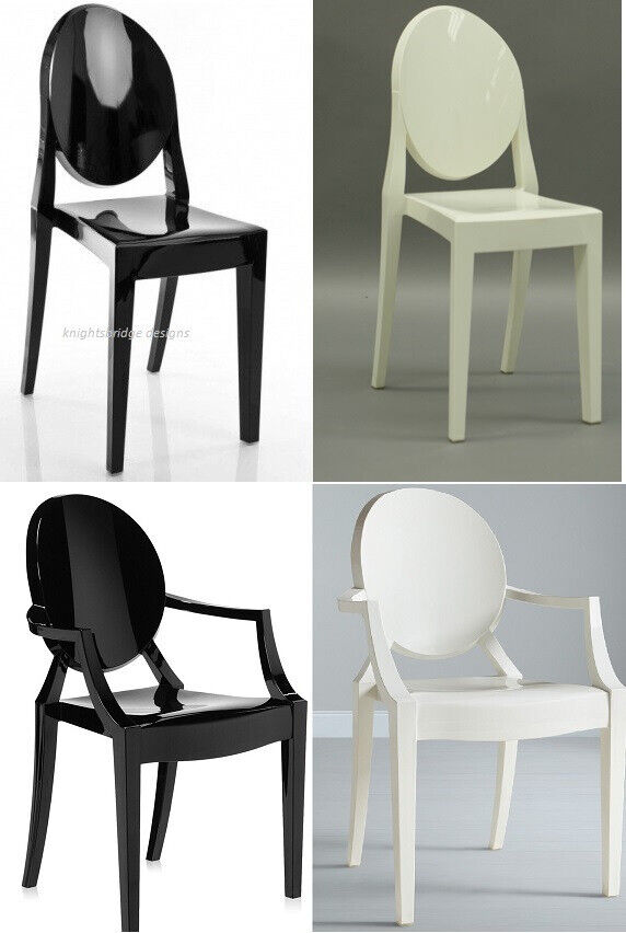 Stupendous 4 Brand New Dining Chairs Cream Off White Gloss Black Victoria Dining Chairs 4 Armchairs Louis Chair In Birmingham City Centre West Midlands Camellatalisay Diy Chair Ideas Camellatalisaycom