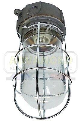 Vapor-proof Walk-in Box Light Fixture Globe Wguard