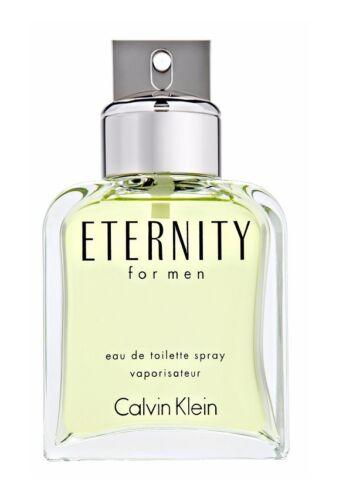Eternity by Calvin Klein 3.4 oz EDT Cologne for Men Brand New Tester