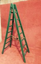 Large Vintage French Wooden Ladder Canning Vale Canning Area Preview