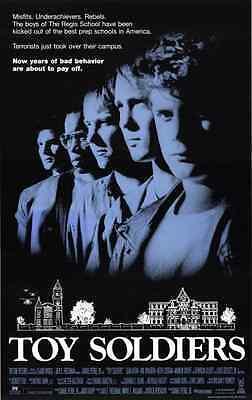 TOY SOLDIERS 1991 ORIGINAL THEATRICAL MOVIE POSTER Sean Astin, Wil Wheaton