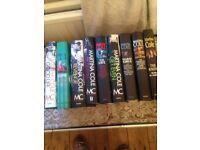 9 Martina Cole hardback books