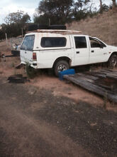Holden rodeo Dual Cab Wrecking only Seymour Mitchell Area Preview