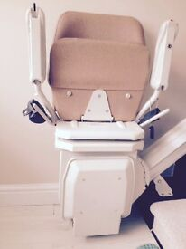 Stair lift working perfect