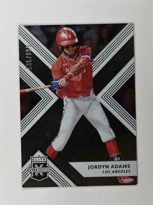 2018 Elite Extra Edition Base #16 Jordyn Adams /999 Extra Baseball Base