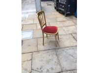 40 dining/banquetting chairs for events/weddings