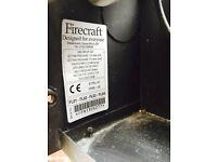 Gas fire & condenser dryer