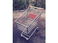 RETAIL SMALL SHOPPING TROLLEY