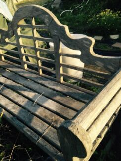Outdoor bench Elanora Heights Pittwater Area Preview