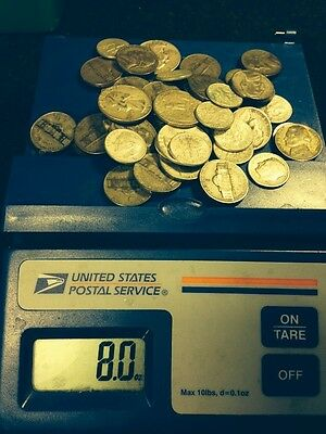 1/2 POUND DEAL OF THE YEAR! 8 Ounces U.S. Junk Silver Coin  Silver Pre 65 ONE - Deal Of The