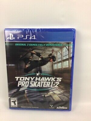 Tony Hawk's: Pro Skater 1 + 2 (PS4) Brand New Factory Sealed Sony PlayStation 4