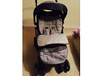 Mothercare pram. Reclines flat!! Immaculate condition.