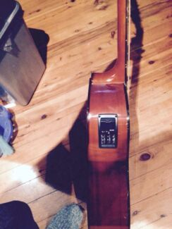 Marquez electric/acoustic guitar with soft bag Padstow Bankstown Area Preview