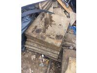 15-20 Concrete paving slabs 600 x 600 paving stones