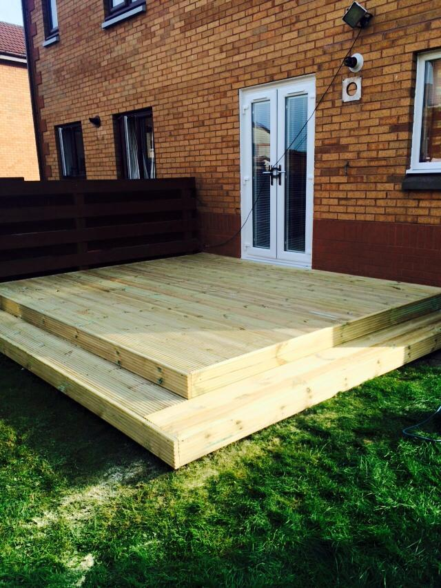 For all your fencing decking artificial grass for Flat pack garden decking
