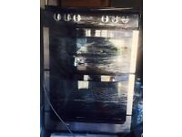 Black/stainless steel NEW WORLD 60cm ELECTRIC COOKER, 4 MONTHS WARRANTY, FREE LOCAL DELIVERY
