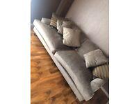 Crushed Velvet 3 seater sofa